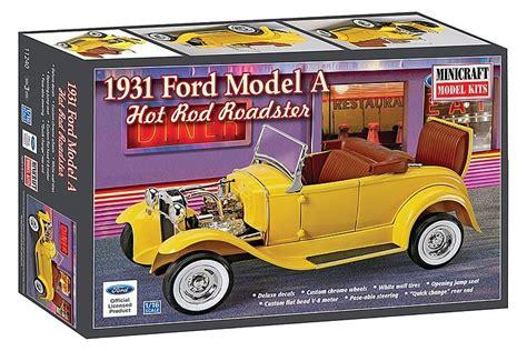 mini rod bausatz 1931 ford roadster rod 183 minicraft model kits 183 581240 183 1 16