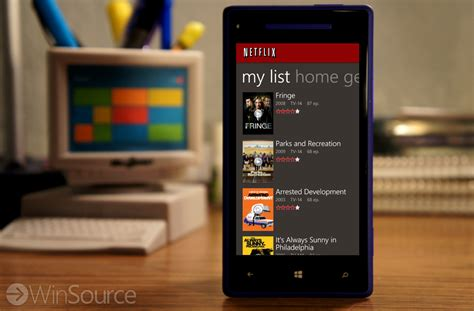 netflix for windows phone gets new quot my list quot feature in