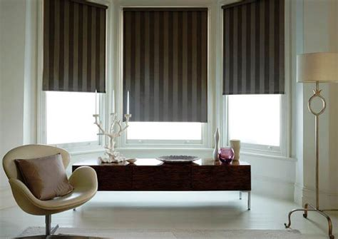 fabric roller shade what blinds are best for bay windows