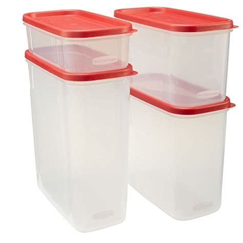 modular kitchen storage containers rubbermaid modular canisters 8 set only 15 49 7831