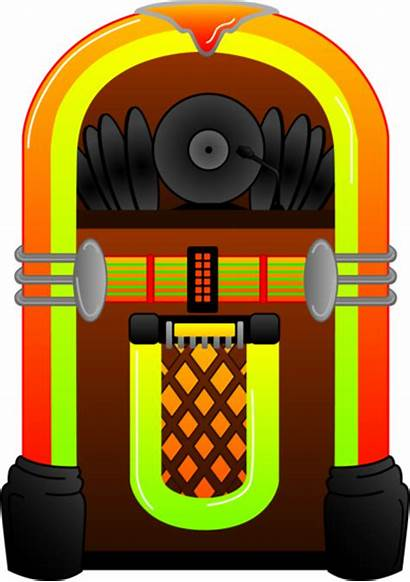 Jukebox Clipart Colorful 1950 1950s Clip Arcade