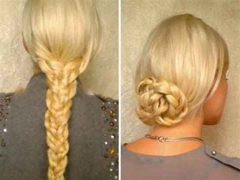 Hair tutorial for long hair Easy heatless hairstyles with