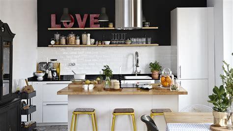 centre cuisine cuisine avec ilot le bois chez vous