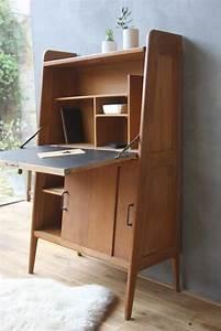 Bureau Secretaire Vintage : moderne milieu de si cle bureaux and tout on pinterest ~ Teatrodelosmanantiales.com Idées de Décoration