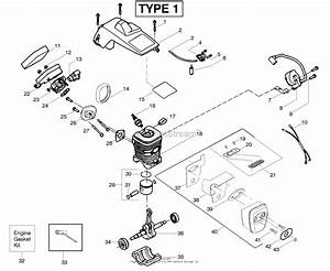 Ayp  Electrolux 2150 Le  2150 Predator Le Type 1  2008-03  Parts Diagram For Engine
