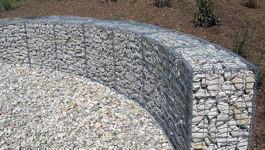 curved walls gabion supply