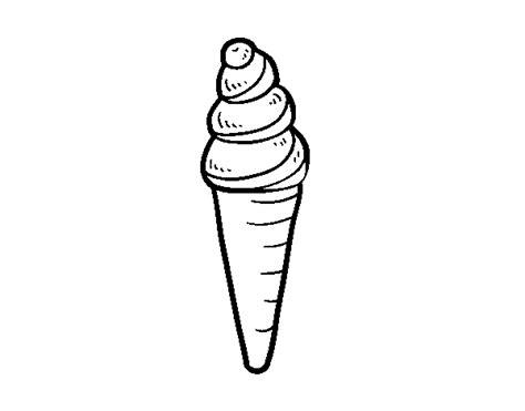 disegni cono gelato da colorare disegno di un cono gelato da colorare acolore