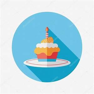 Birthday Cake Icon Vector images
