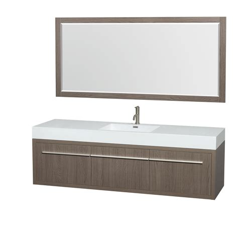 70 Inch Bathroom Vanity Without Top by Wyndham Collection Axa 72 Inch Single Bathroom Vanity In