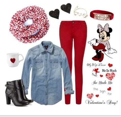 Casual Valentineu0026#39;s Day outfit #valentinesday #red #hearts | Everyday should be a holiday ...