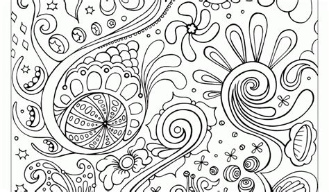 Free Printable Abstract Coloring Pages