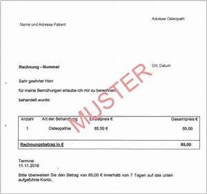 Formlose Rechnung : anschreiben kostenerstattung krankenkasse bewerbungsschreiben 2018 ~ Themetempest.com Abrechnung