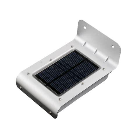 eclairage solaire 16 leds ip65 avec d 233 tecteur de mouvement 224 14 90 eclairage solaire ext 233 rieur