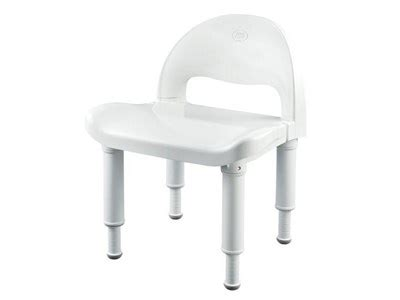 moen home care glacier shower chair with adjustable height