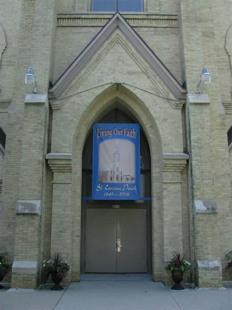 landmarkhuntercom st lawrence catholic church