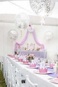 Kara's Party Ideas Elegant Purple Princess Birthday Party