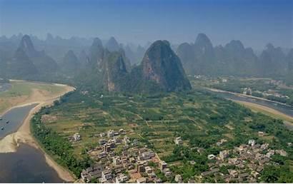 Guilin China Guangxi Yangshuo Wallpapers Yunnan Glorious