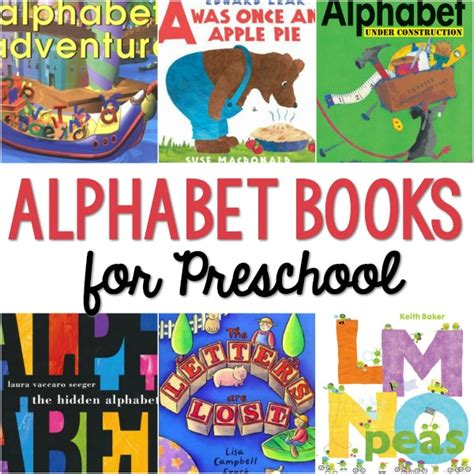 alphabet books for preschool pre k pages 914 | ABC Books for Preschool
