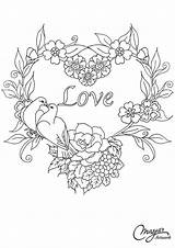 Embroidery Patterns Flowers Hand Coloring Pages Hearts Para Bordar Dibujos Designs Flower Bordado Wreath Patrones Number Printable Annaspencerphotography Floral Adults sketch template