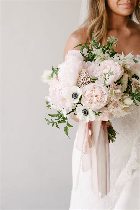 Romantic Pastel Santa Barbara Wedding Wedding Flowers