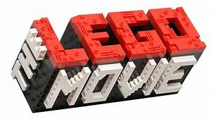 how to build THE LEGO MOVIE mini logo! - YouTube