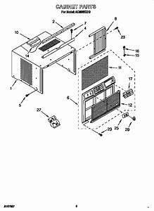 Whirlpool Window Air Conditioner Parts