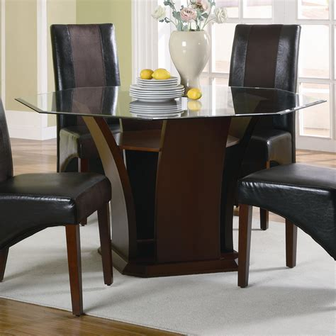 furniture appealing design of octagon dining room table