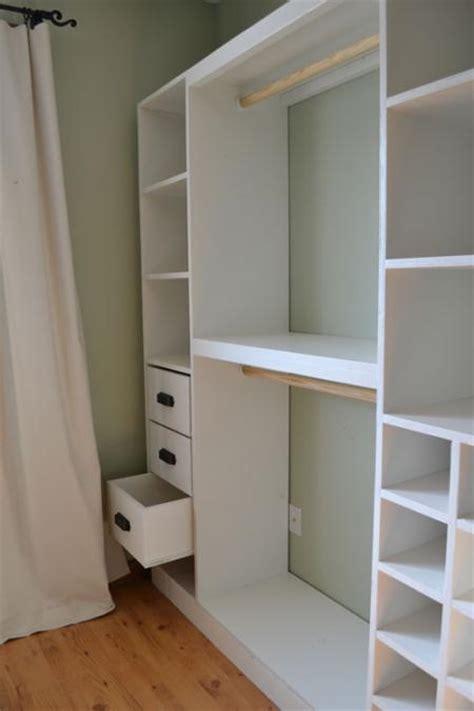 how to build a closet system pdf build your own closet storage system plans free