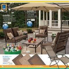 aldi summer backyard oasis on offset umbrella more more and rope hammock