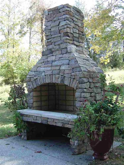 outdoor wood burning fireplace kits stoneage manufacturing wood burning fireplace kit