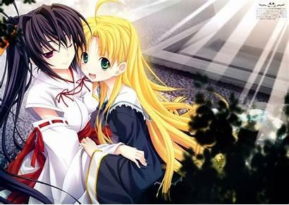 Dxd Akeno Himejima Fondo Pantalla Asia Anime