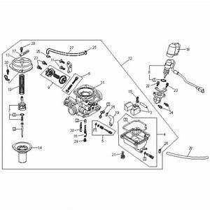 Carburetor  Kasea Adventure Buggy 150