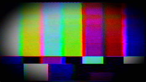 Television And Film Static And Electronic Noise Captured