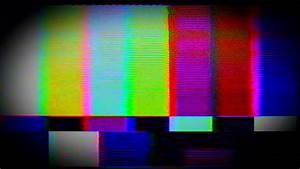 Tv Static Noise Color Bars Stock Footage Video  100