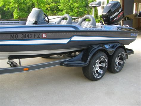 Boat Trailer Tires White Letter by Missouri 2014 Ftd Mercury 250 Pro Xs Only 10 Hours