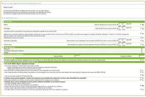simulateur cuisine en ligne simulateur en ligne pour calculer ses impôts sur le revenu