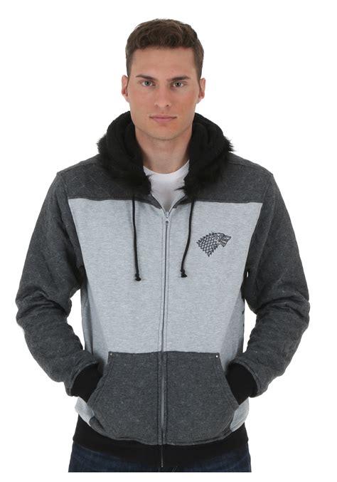 of thrones sweater of thrones stark hooded sweatshirt