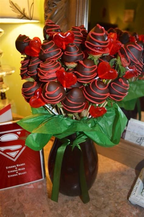 chocolate covered strawberry bouquet  easy
