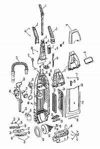 Hoover U6476 Vacuum Parts