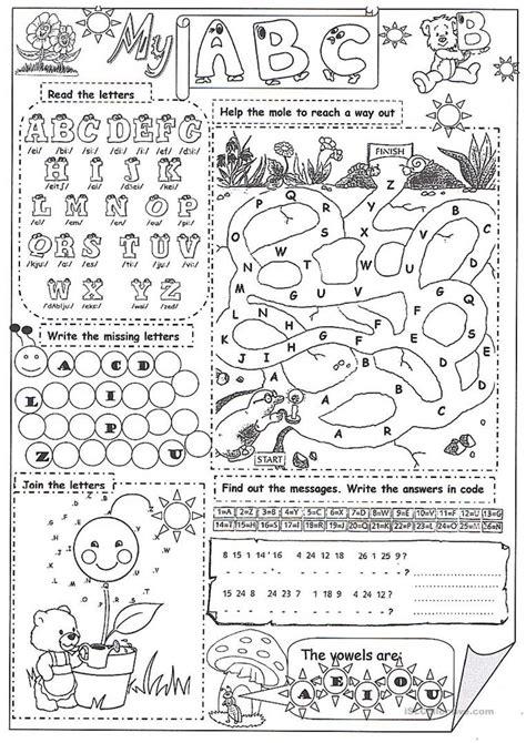 abc worksheet  esl printable worksheets