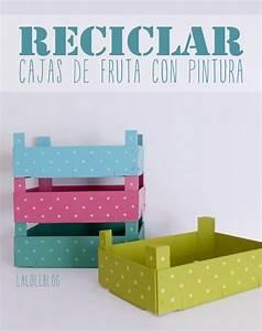 Recyclage Petite Cagette : reciclar cajitas de fresas travaux manuels d coration etc pinterest travaux manuels ~ Nature-et-papiers.com Idées de Décoration