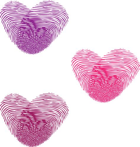 hochzeit fingerabdruck herz herz liebe herzen 183 kostenlose vektorgrafik auf pixabay