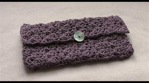 easy crochet purse tutorial   crochet  clutch bag