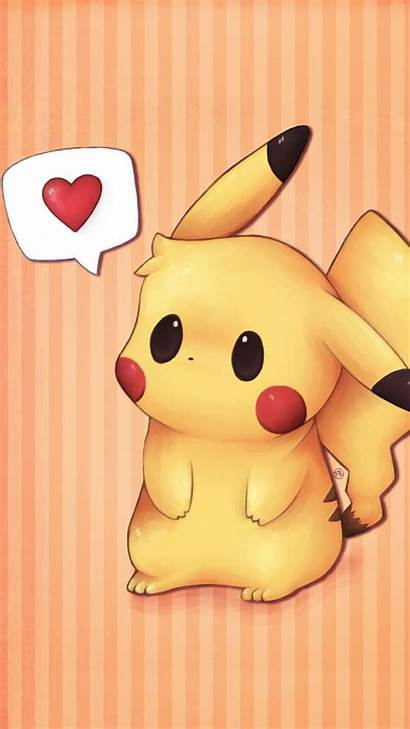 Pikachu Iphone Pokemon Wallpapers Say Kuning Kolpaper