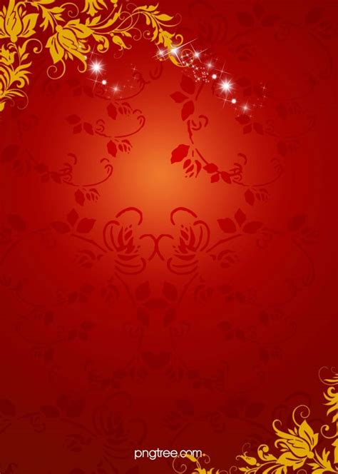 chinese  year red floral pattern background red