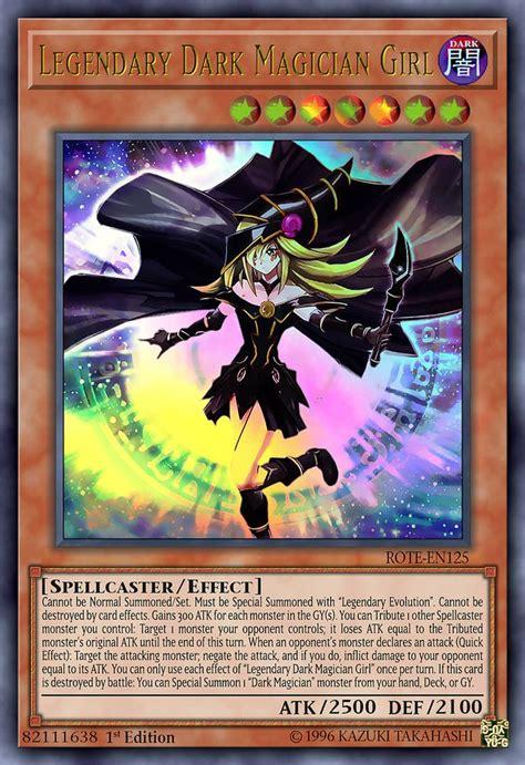 legendary dark magician girl  httpswwwdeviantartcom