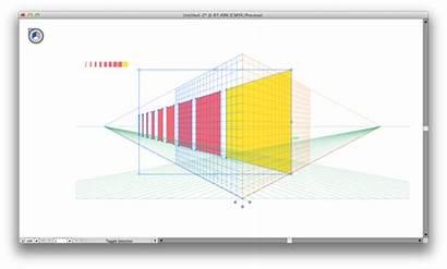 Grid Perspective Illustrator Drawing Tool Simple Adobe