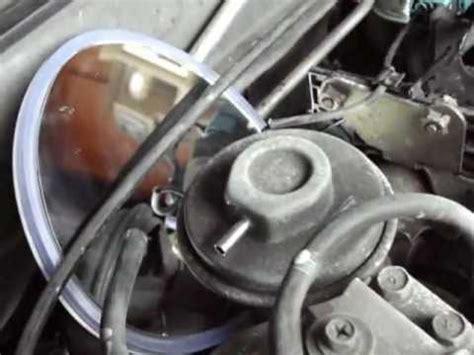 clean  test egr valve  nissan altima