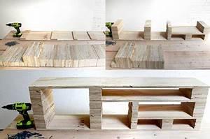 Meuble Tv Original : quel bois pour fabriquer meuble tv maison et mobilier d 39 int rieur ~ Teatrodelosmanantiales.com Idées de Décoration