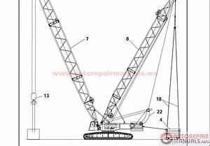 Terex Crane Shop Manual  Parts Manual  Operation And Maintenance Manual